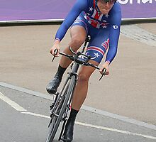 Kristen Armstrong - Starts The Women`s Individaul Time Trial - London 2012 by Colin  Williams Photography