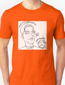 Colour in Cumberbatch! Bonus Freeman. T-Shirt