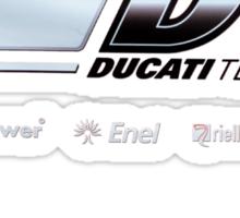 Ducati Banner iPhone case Sticker
