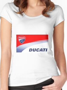 Ducati iPhone Case Women's Fitted Scoop T-Shirt