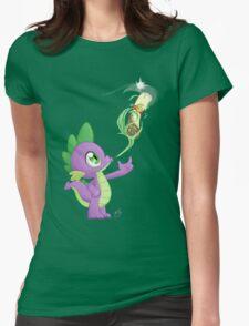 Spike - Cutie mark Womens Fitted T-Shirt