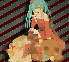 Christmas Miku by Nai-Akari