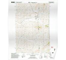 USGS Topo Map Washington State WA Farmington 241128 1994 24000 Poster