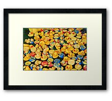 Just Ducky! Framed Print