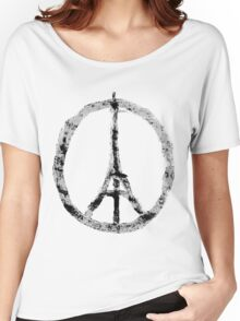 Pray for Paris Women's Relaxed Fit T-Shirt