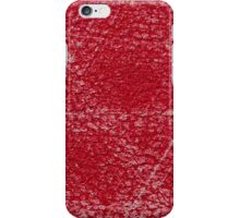 Abstract pattern on leather iPhone Case/Skin