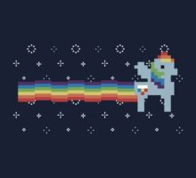Sonic Nyan Rainboom! by Sarah Kittell