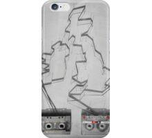 Tape & shadows - British iPhone Case/Skin