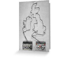 Tape & shadows - British Greeting Card