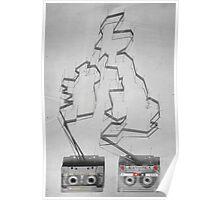 Tape & shadows - British Poster