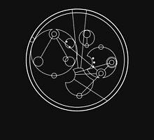 """""""it's funnier in Enochian"""" in Gallifreyan light on dark Unisex T-Shirt"""