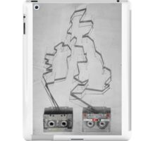 Tape & shadows - British iPad Case/Skin