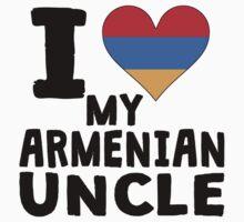 I Heart My Armenian Uncle One Piece - Long Sleeve