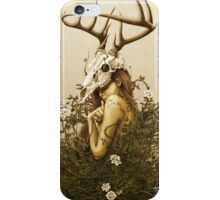 The Deer Secret iPhone Case/Skin