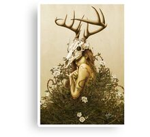 The Deer Secret Canvas Print