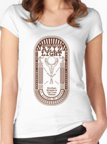 Aziz Light-The Divine Brew Women's Fitted Scoop T-Shirt