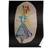 Alice in the land of... Wondernecks Poster