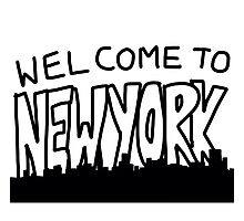 Welcome to New York Photographic Print