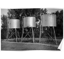 Fuel Drums Linga Longa Poster