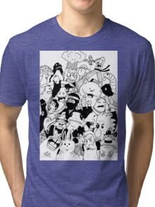 George Clarke - Characters Mar15 Tri-blend T-Shirt