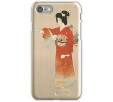 Vintage poster - Japan iPhone Case/Skin