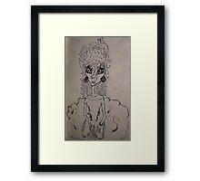 A Gypsy for a day Framed Print