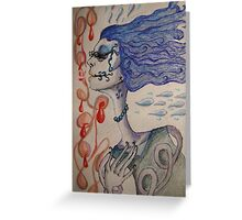 Twisted and twirled  Greeting Card
