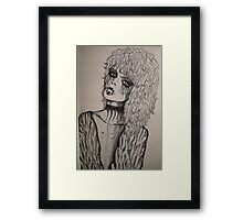 We will survive... Framed Print