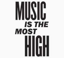 Music is the most high One Piece - Short Sleeve