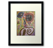 Sally is dreaming of Jack Framed Print
