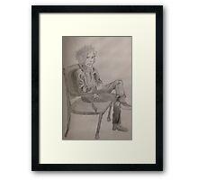 Tim Burton Framed Print