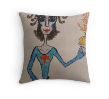Mrs. Lovett Throw Pillow