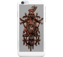 GERMAN CUCKOO CLOCK IPHONE CASE iPhone Case/Skin