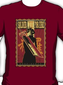 Soldier for Hire T-Shirt