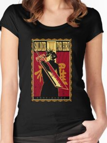 Soldier for Hire Women's Fitted Scoop T-Shirt
