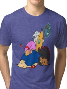 Sonic & Hedgehogs Tri-blend T-Shirt