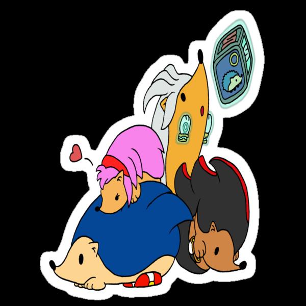 Sonic & Hedgehogs by PreStalnic