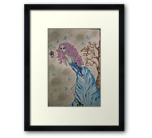 We are all a bit twisted Framed Print