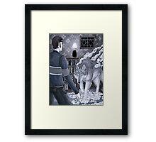 Der Wolf Framed Print