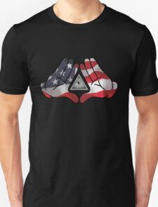 American Illuminati Hands Diamond T-Shirt