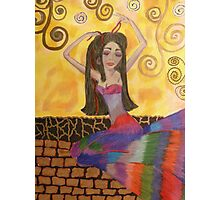 Dahlia, the dreamy girl or the girl who dreams Photographic Print
