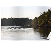 Small Dock, San Juan Island, Washington Poster