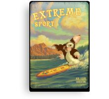 Retro Surf Canvas Print