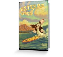 Retro Surf Greeting Card