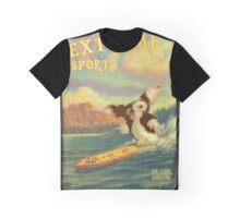 Retro Surf Graphic T-Shirt
