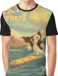 Retro Surf Graphic T-Shirt