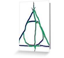 Deathly Hallows 2 Greeting Card
