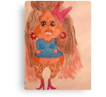 How I see Snooki! Canvas Print