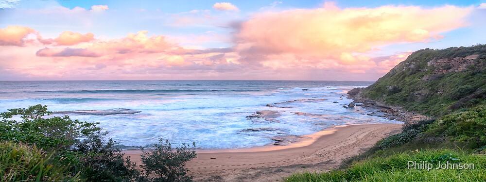 Turimetta Sunset #2 - Turimetta Beach, Sydney Australia - The HDR Experience by Philip Johnson