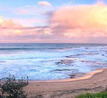 Turimetta Sunset #2 - Turimetta Beach, Sydney Australia - The HDR Experience by Philip Johnson
